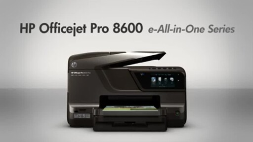 HP OfficeJet Pro 8600 - image 2 from the video