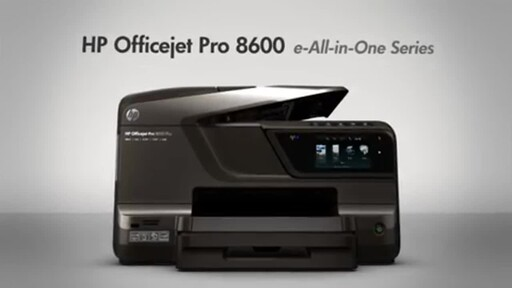 HP OfficeJet Pro 8600 - image 9 from the video