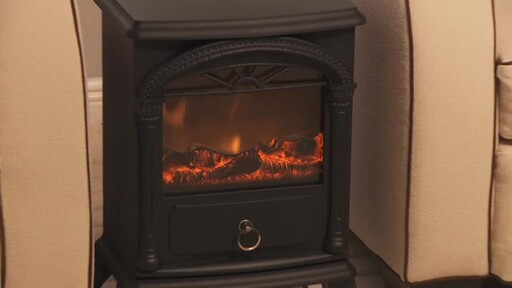 Vernon Electric Fireplace - image 1 from the video