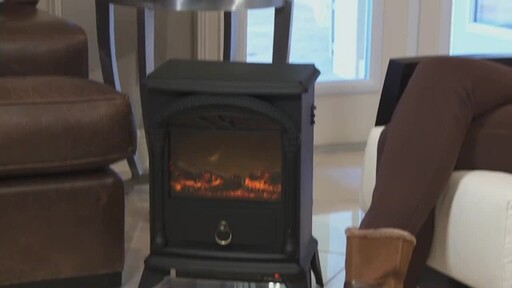 Vernon Electric Fireplace - image 6 from the video