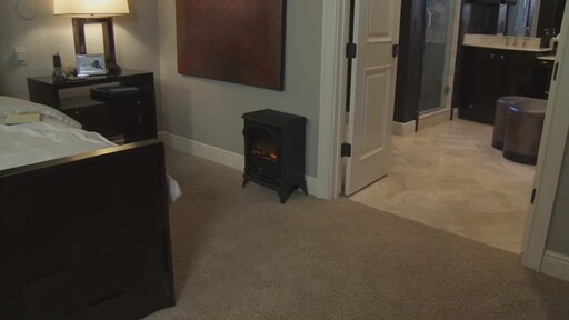 Vernon Electric Fireplace - image 9 from the video