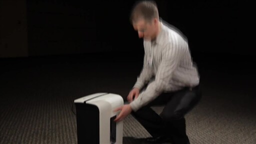 GoECOlife GMW100P 10-Sheet Micro-Cut Shredder - image 4 from the video