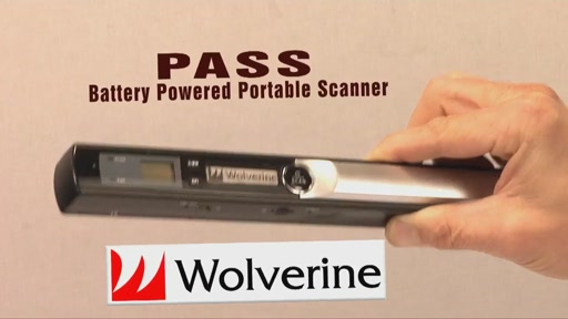 Wolverine PASS Handheld Scanner - image 1 from the video