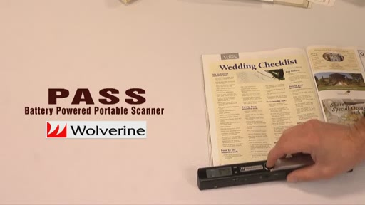 Wolverine PASS Handheld Scanner - image 4 from the video