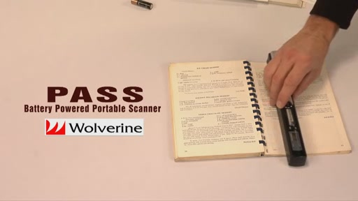 Wolverine PASS Handheld Scanner - image 5 from the video