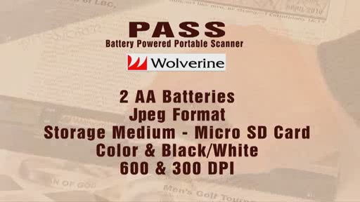 Wolverine PASS Handheld Scanner - image 8 from the video