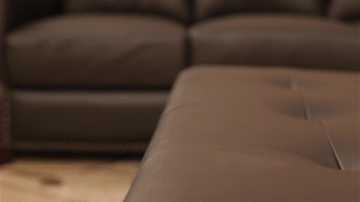 Vegas Leather Sectional - image 3 from the video