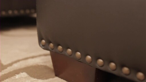 Vegas Leather Sectional - image 6 from the video