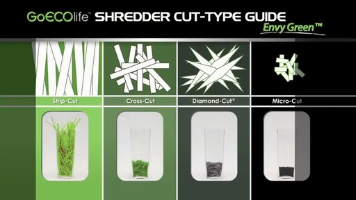 GoECOlife 12-Sheet Cross-cut Commercial Shredder - image 3 from the video