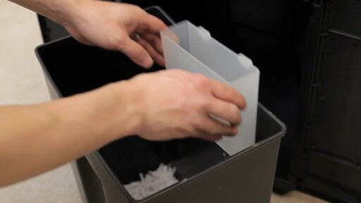 GoECOlife 12-Sheet Cross-cut Commercial Shredder - image 5 from the video