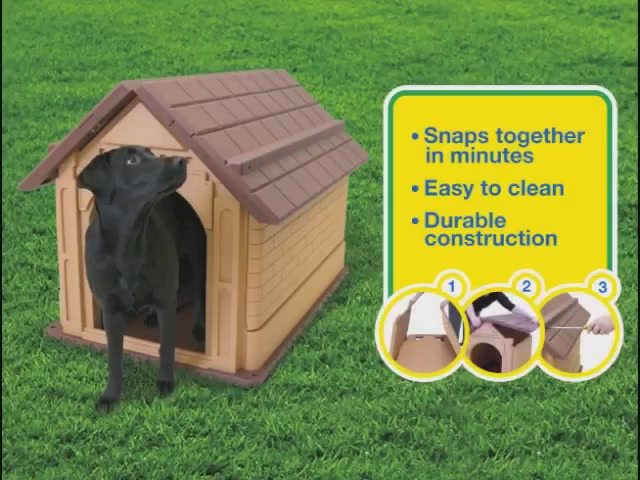Our Pets Comfy Cabin Large Dog House - image 2 from the video