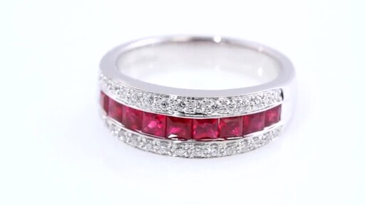 Ruby And Diamond Ring Jewelry Video Gallery