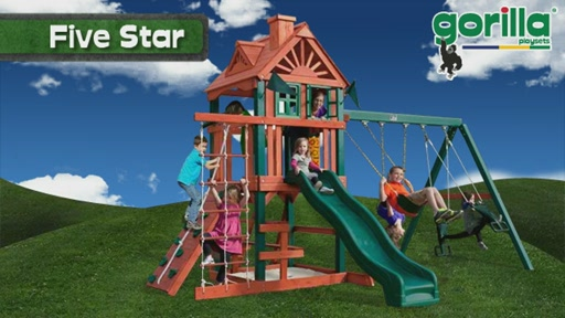 The Five Star Playset By Gorilla Playsets - image 1 from the video