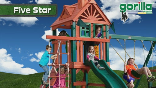 The Five Star Playset By Gorilla Playsets - image 2 from the video