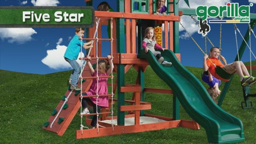 The Five Star Playset By Gorilla Playsets - image 3 from the video