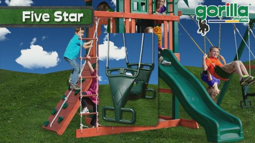 The Five Star Playset By Gorilla Playsets - image 4 from the video