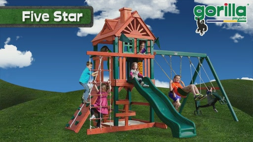 The Five Star Playset By Gorilla Playsets - image 5 from the video