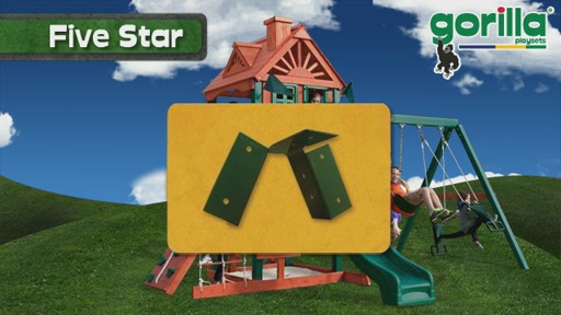 The Five Star Playset By Gorilla Playsets - image 6 from the video