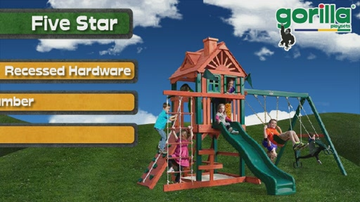 The Five Star Playset By Gorilla Playsets - image 7 from the video