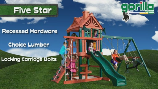 The Five Star Playset By Gorilla Playsets - image 8 from the video