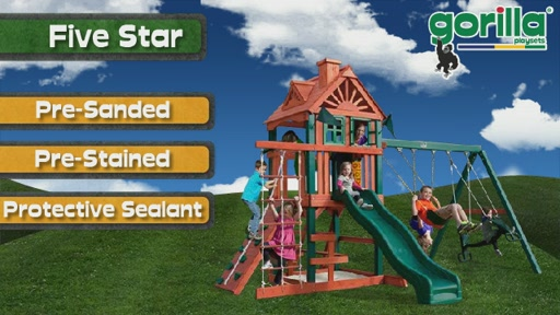 The Five Star Playset By Gorilla Playsets - image 9 from the video
