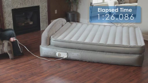 "AeroBed fort Anywhere 18"" Air Mattress with Headboard"