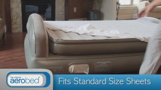 Aerobed 174 Comfort Anywhere 18 Quot Air Mattress With Headboard