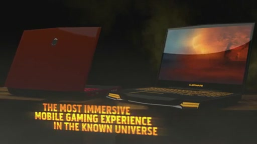 Alienware M17X 3D Laptop - image 10 from the video