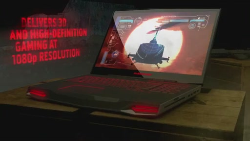 Alienware M17X 3D Laptop - image 6 from the video