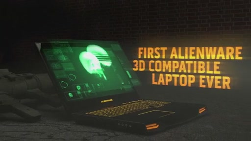 Alienware M17X 3D Laptop - image 7 from the video