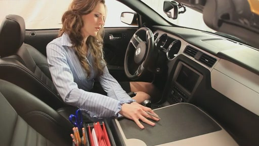 Autoexec Gripmaster Car Desk With Pull Out Writing Surface