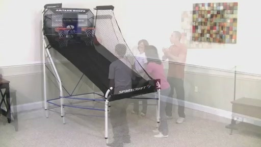 Sportcraft Basketball Arcade Hoops - image 1 from the video
