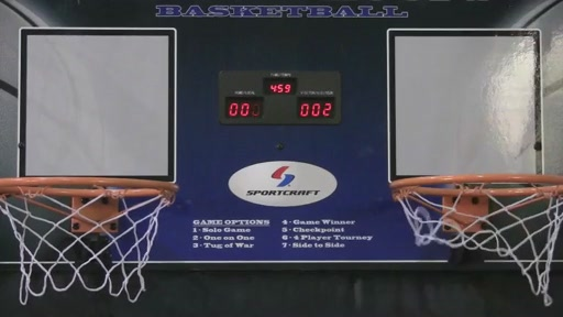 Sportcraft Basketball Arcade Hoops - image 2 from the video