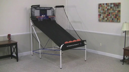 Sportcraft Basketball Arcade Hoops - image 7 from the video