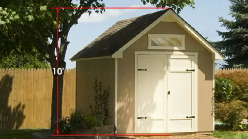 Everton 8'x12' Wood Shed Video - image 1 from the video