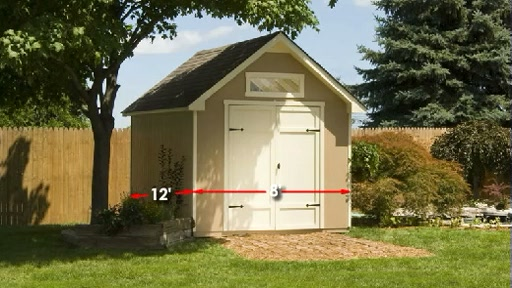 Everton 8'x12' Wood Shed Video - image 2 from the video