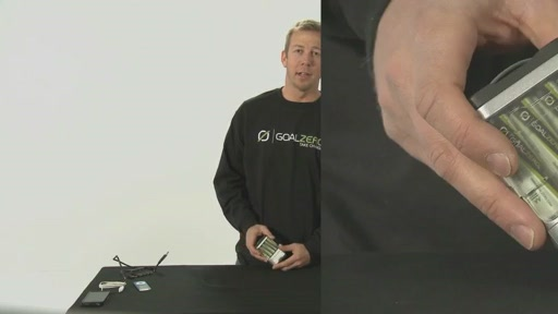 GOAL ZERO® Portable Solar Power Essentials Kit - image 2 from the video