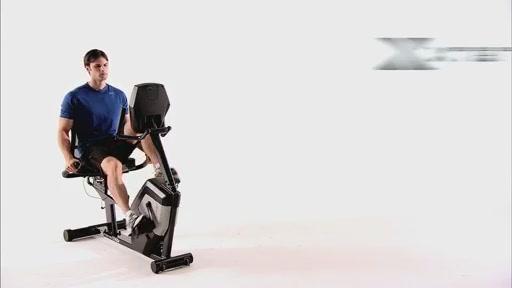 XTERRA SB4.5r Walk-Thru Recumbent Bike - image 10 from the video