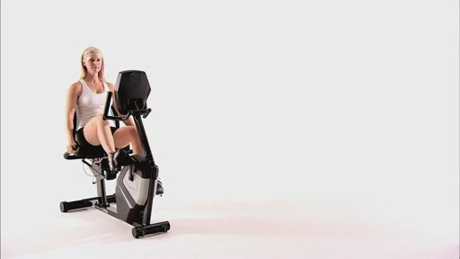 XTERRA SB4.5r Walk-Thru Recumbent Bike - image 2 from the video
