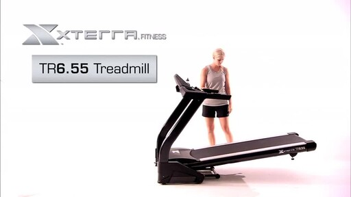 XTERRA® TR6.55 Treadmill - image 2 from the video