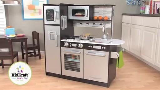 KidKraft Uptown Espresso Kitchen - image 1 from the video