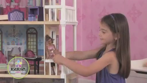 KidKraft My Dreamy Dollhouse - image 6 from the video