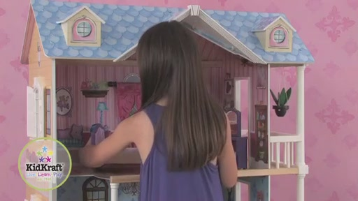 KidKraft My Dreamy Dollhouse - image 8 from the video