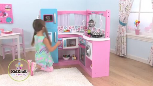 Merveilleux KidKraft® My Groovy Gourmet Corner Kitchen   Image 1 From The Video