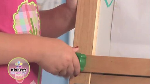 KidKraft Deluxe Grand Storage Easel - image 3 from the video