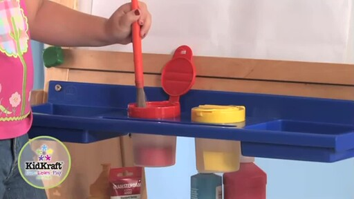 KidKraft Deluxe Grand Storage Easel - image 4 from the video