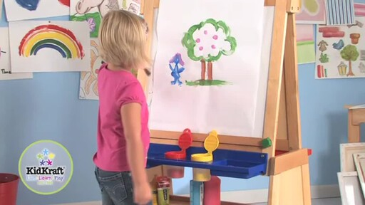 KidKraft Deluxe Grand Storage Easel - image 5 from the video