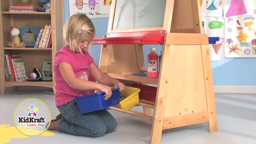 KidKraft Deluxe Grand Storage Easel - image 8 from the video