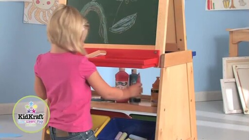 KidKraft Deluxe Grand Storage Easel - image 9 from the video