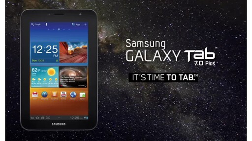 Samsung Galaxy Tab 7.0 Plus - image 10 from the video